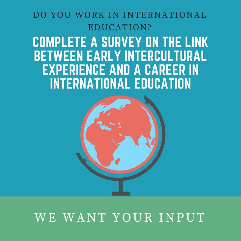 Research Survey for #intled #studentadvisors