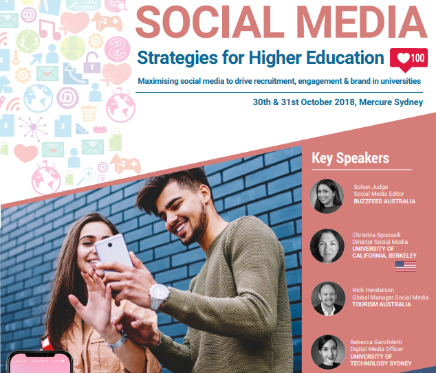 Discounted Conference Registration for ISANA members – Social Media Strategies for Higher Education Conference